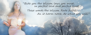 Wiccan Rede Banner by Fellonie