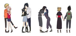 naruto otps by TheSmall