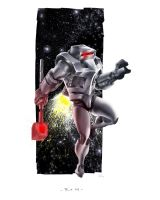 ROM Space Knight by stevenjamestaylor