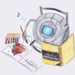 Wheatley the Artist by MasterPlanner