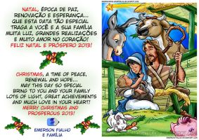 FELIZ NATAL / MERRY CHRISTMAS by Emerson-Fialho