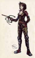 Post-apocalyptic Archer by Taylor-payton