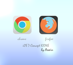 iOS 7 Concept Browser Icons by Hameed-acchu