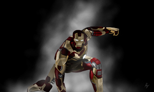I AM IRON MAN by WeaponX-Art