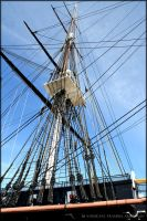 USS Constitution II by Tramira