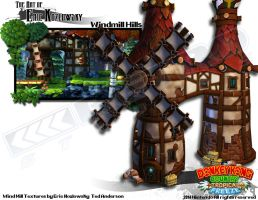 DKCTF Windmills by vonkoz
