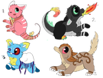 Cutties - Adoptable (Closed) by Adopts-Only