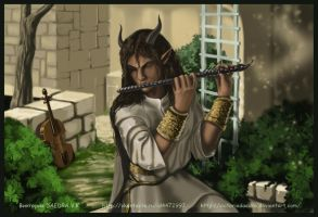 Fabio_the_Dremora by VictoriaDAEDRA