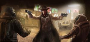 Gunslinger by vakhu