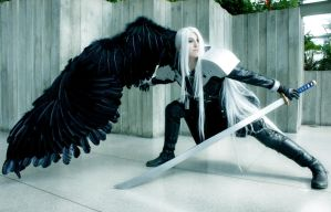 Sephiroth - Ready to strike by The-Winter-Cosplayer