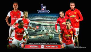 ARSENAL - MANCHESTER UNITED by jafarjeef