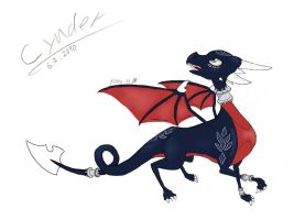 Cynder by meh with color by afromark