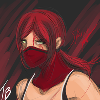 Skarlet Doodle by Countess-Noir