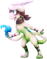 FA: Smeargle by DragonicSalphe