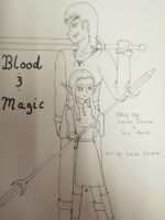 Blood and Magic-cover by LainaInverse