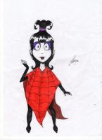 Lydia Deetz by marina-the-hedgehog