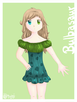 :Bulbasaur Dress: by Mizuka