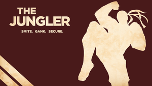 The Jungler - Lee Sin Wallpaper by Welterz