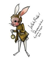 White Rabbit by DayDreamingLolly