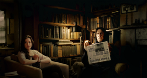 Amelia and Snape. - HP OC. by Alice91
