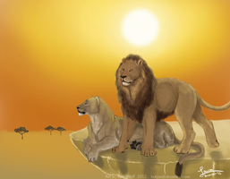 African Sun - Commission by KeksWolf