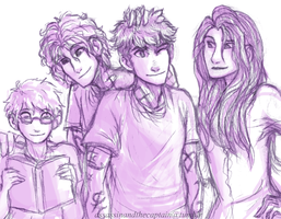 Lightwood Children by Deesney