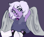 Baby Amethyst by TechnicolorDreamCat