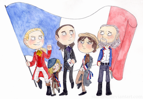 To the Barricades! by Starlene