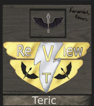 Teric Elite Member Badge by FireHeartDraws