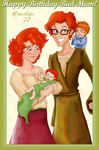 Bad Mum Gift: Weasley Family by Weasley-Detectives