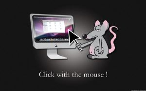 Click with the mouse by Hubcube