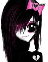 Emo  Girl by angie2d