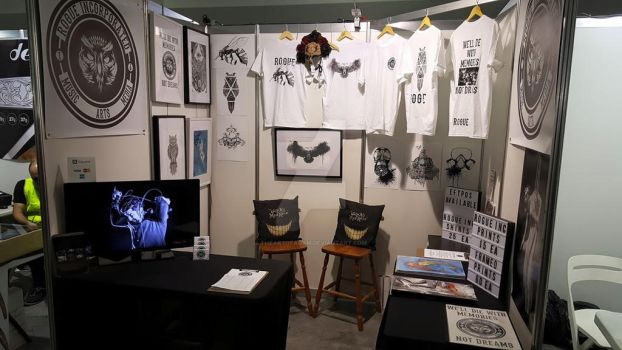 Tattoo Booth :D by TheArtofAdam