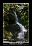 Bridal Veil at Bushkill by Mardonic