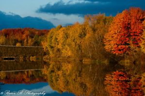 Autumn Reflections by Brian-B-Photography