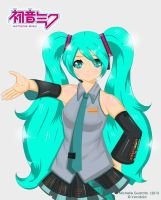 Fan Art: Hatsune Miku by mitchsan