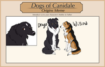 Dogs of Canidale Origins Oct MSE by AuroraIkia