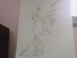 Sonic The hedgehog by jhhgdhjfdtyjvcxdfghj
