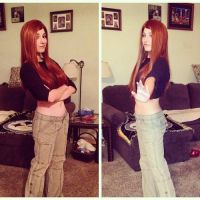 Kim Possible Closet Cosplay by WickedLover010