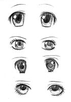 Women eyes by Fleeting-Life