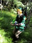 Link found a rupee by Forest-Queen