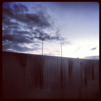 The Wall, 6.30am by CatchMe-22