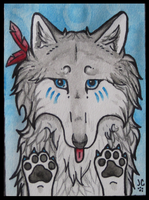 ACEO Victori by ForeverCanine
