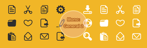 Mono: Office General 2 by customicondesign