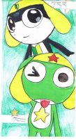 Keroro and Tamama by iceFlash-ex