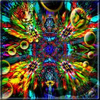Ayahuasca Goddess by PsychedelicTreasures