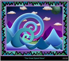 The Great Spiral Wave by eccoarts