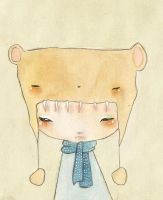 Bear Hat by Orenji-art