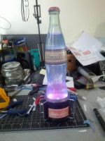 Nuka Cola Quantum Lamp by doctorwoo42