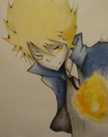 Birthday present + request - Tsuna by Jennux3